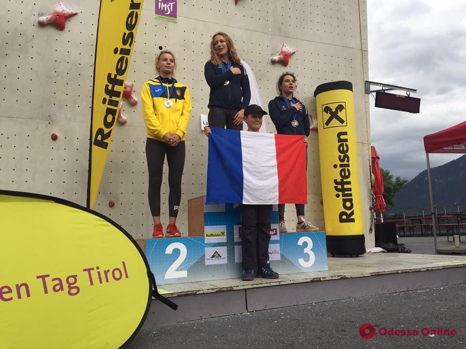 Скалолазание: одесситы стали призерами Кубка Европы