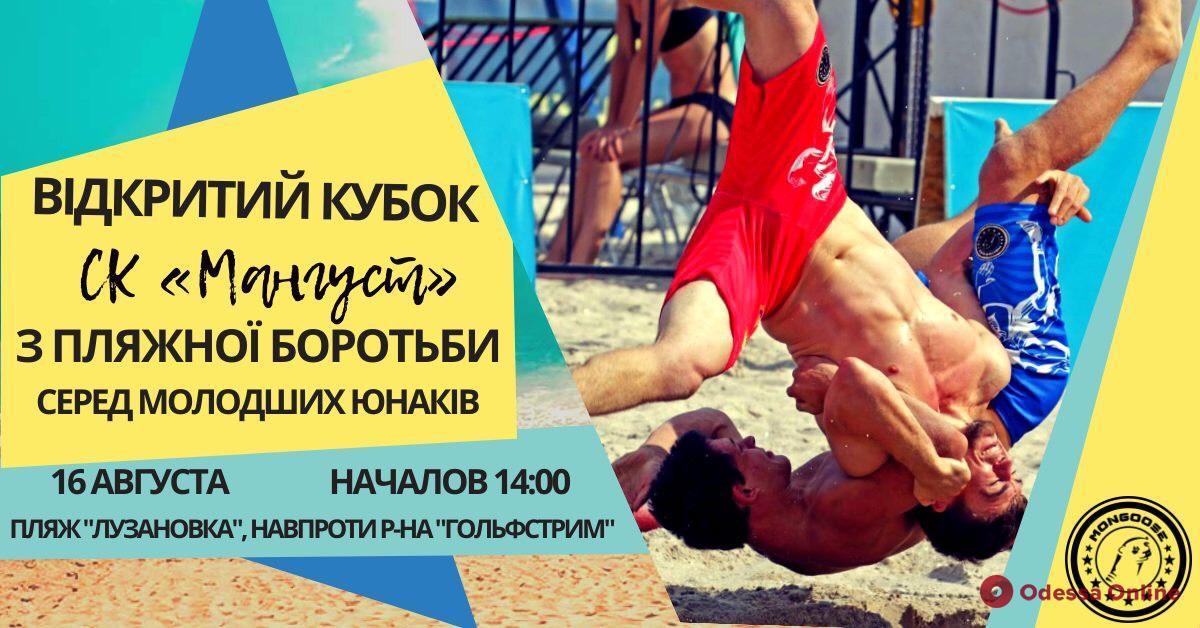В Лузановке пройдет турнир по пляжной борьбе
