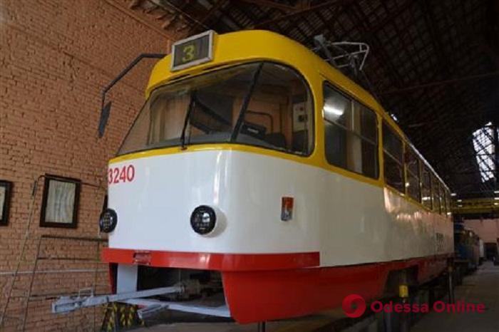 В Одессе изношенные трамвайные вагоны обретают «вторую жизнь»