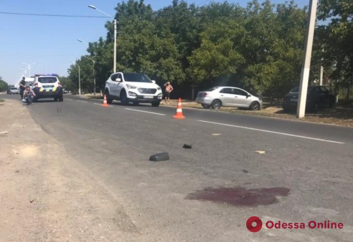 На въезде в Измаил в ДТП пострадал 17-летний велосипедист