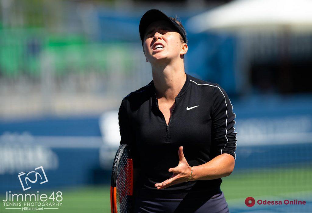 Теннис: уроженка Одессы невероятным образом проиграла гречанке в США