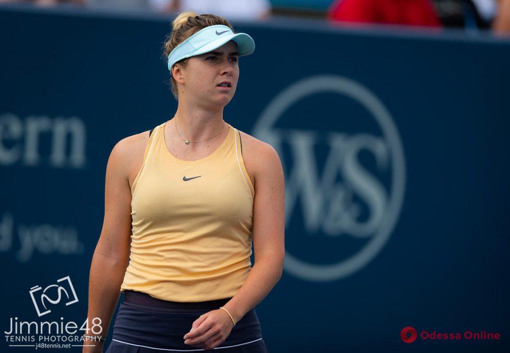 Теннис: уроженка Одессы вновь проиграла американке на турнире в США