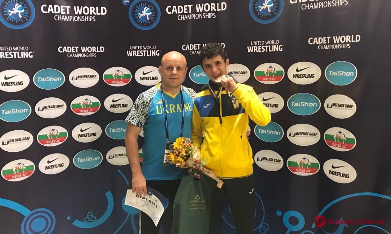 Борец из Одесской области завоевал медаль чемпионата мира