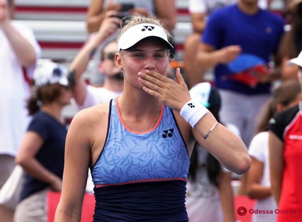Одесская теннисистка на следующей неделе сыграет в Сербии