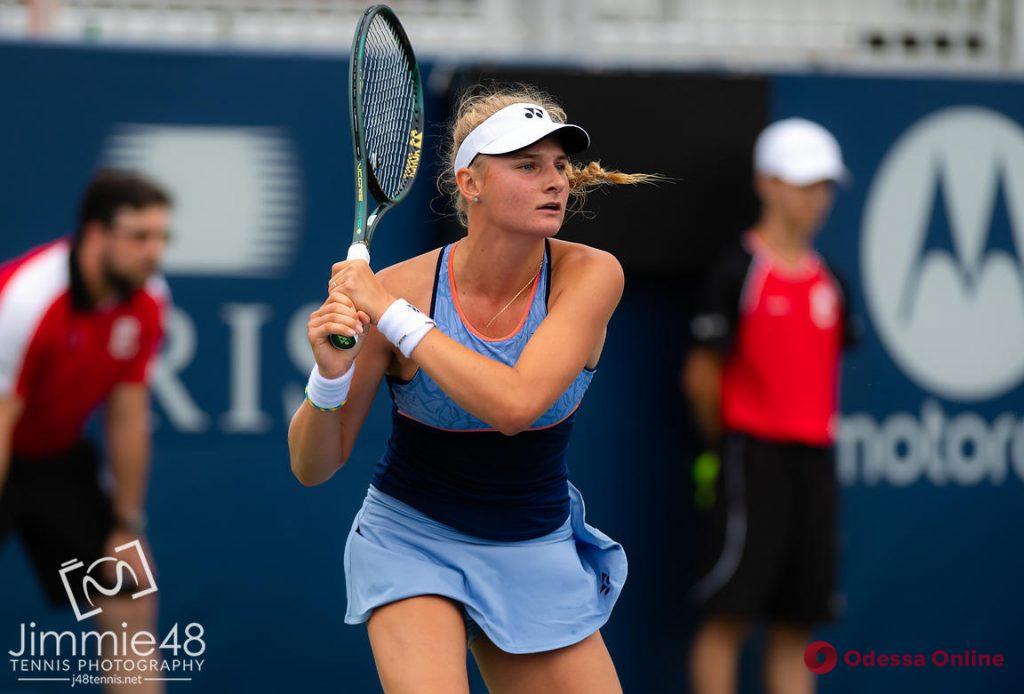 Теннис: одесситка обыграла экс-первую ракетку мира в США