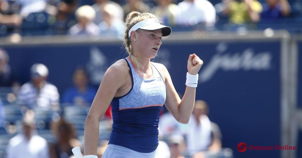Теннис: юная одесситка уверенно разобралась в Торонто с 13-й ракеткой мира