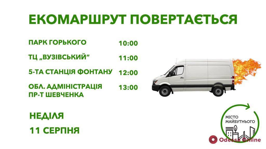 Завтра по Одессе проедет экоавтомобиль
