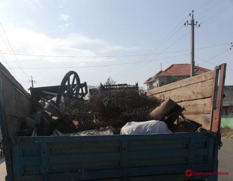 Почти тонну черного металла изъяли у жителя Одесской области