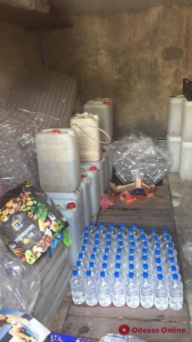 В Одессе нашли более тонны «паленого» алкоголя