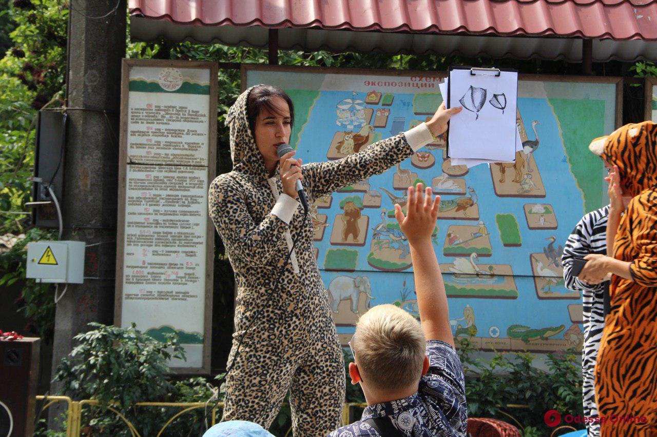 В Одесском зоопарке отметили День тигра (фото, видео)