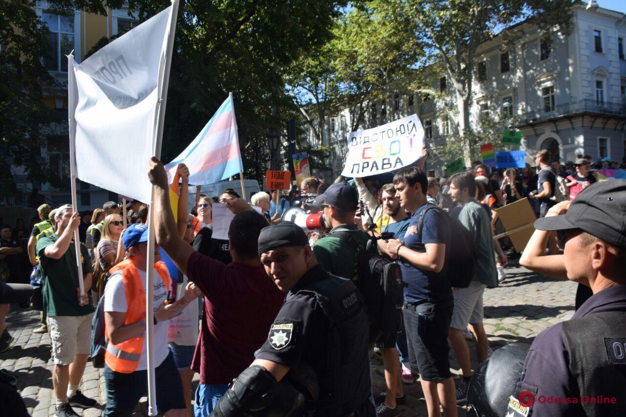 Одесса: во время Марша равенства задержали хулиганов