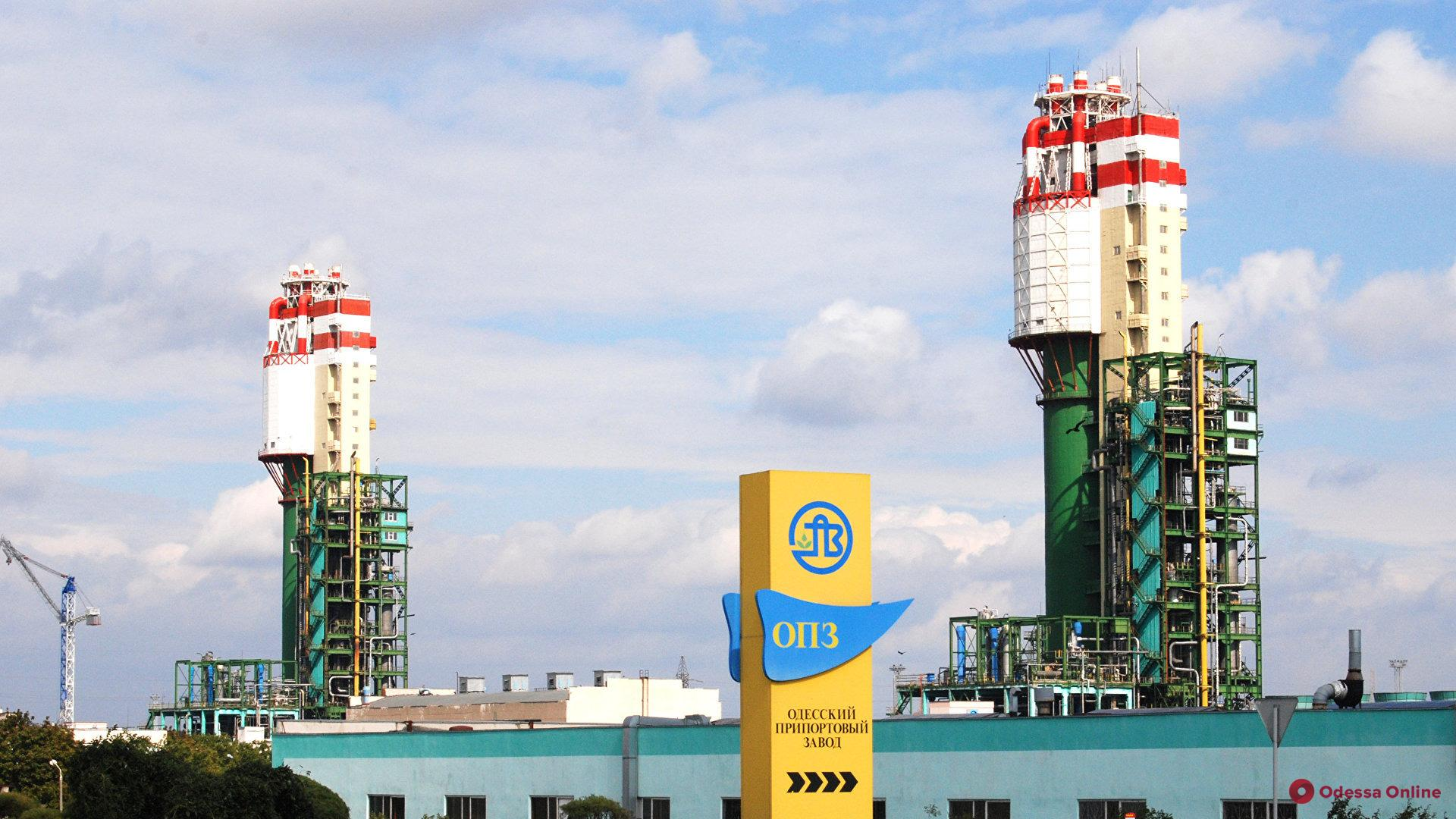 Под Одессой заработал припортовый завод (видео)