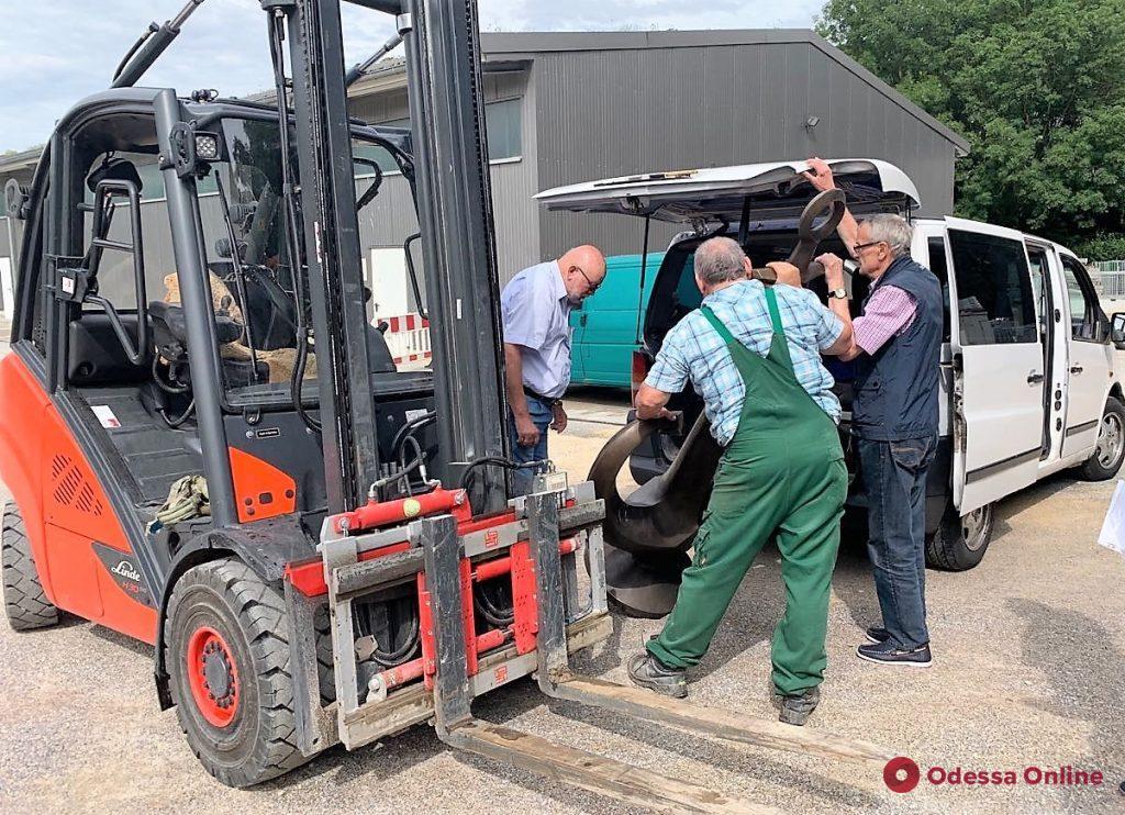 Туристический символ Одессы прибыл в Регенсбург