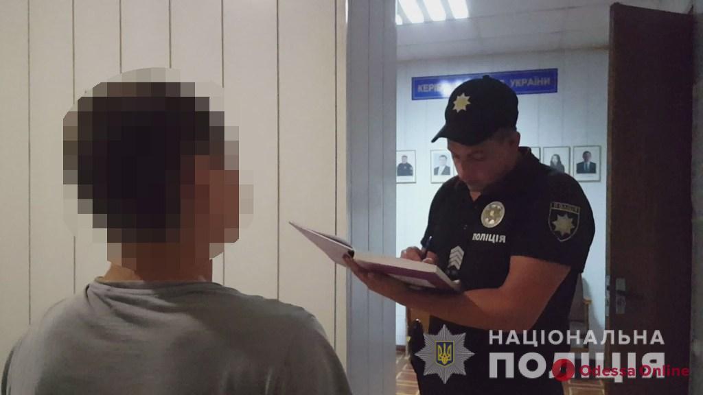 Одесские полицейские поймали пьяного угонщика мопеда
