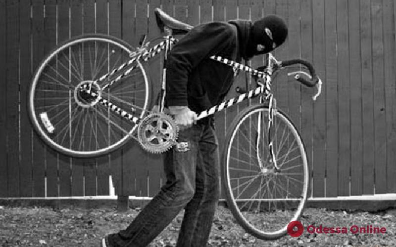 В Одессе поймали велоугонщика