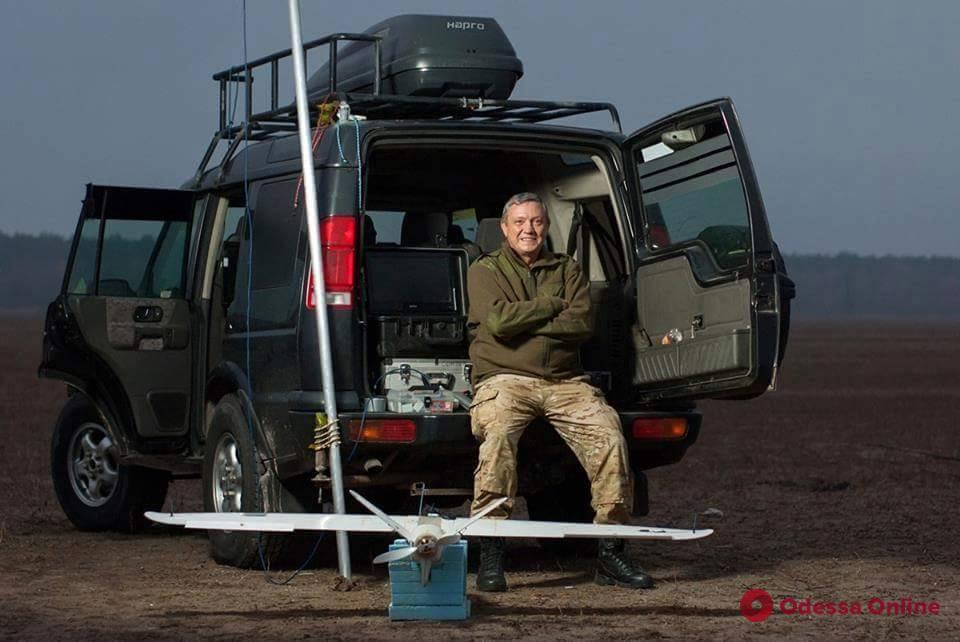 Армейские истории: одесский ветеринар пролетал четыре года в небе над Донбассом