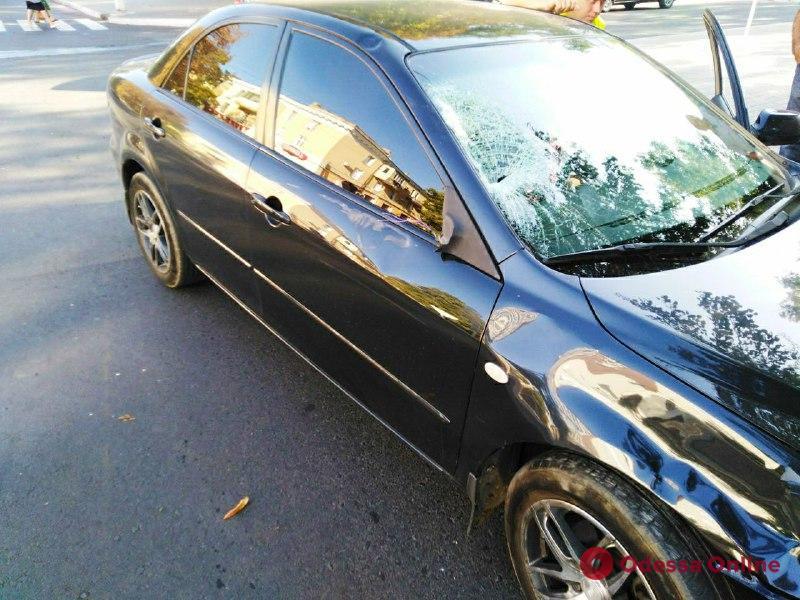 В Измаиле автоледи на «Мазде» сбила женщину