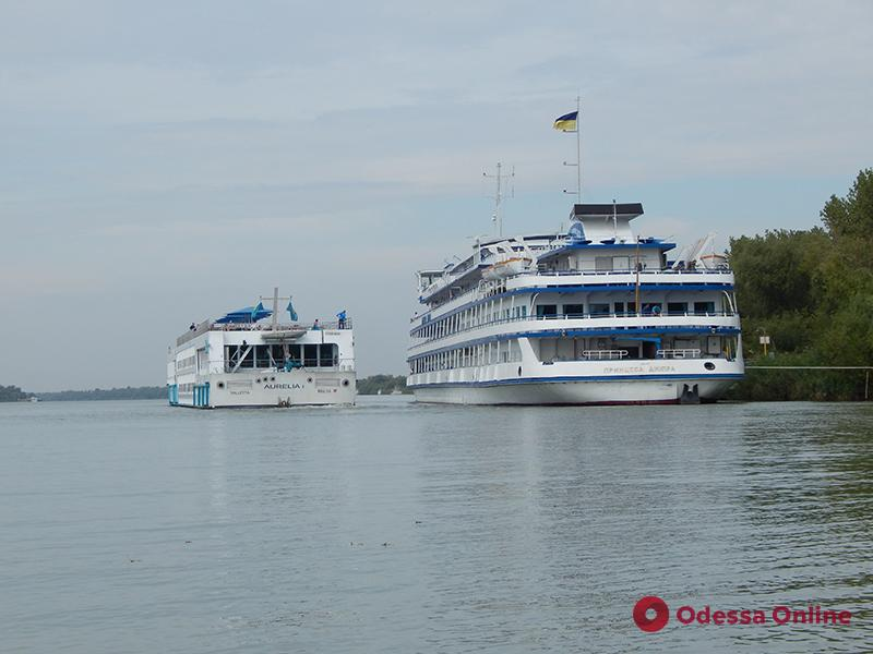 За день в Вилково зашли сразу три круизных лайнера