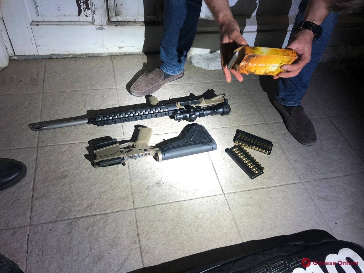 В Одесской области задержали торговцев оружием