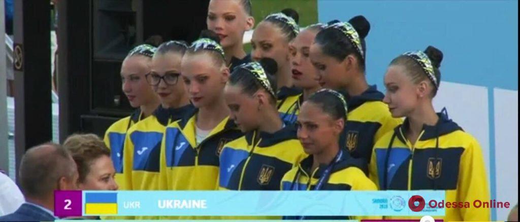 Синхронное плавание: юная одесситка завоевала «серебро» чемпионата мира