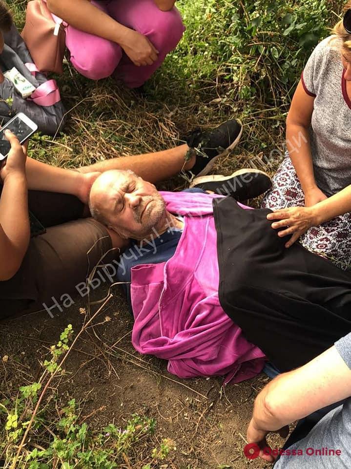 Почти неделю бродил в полях: одесские волонтеры разыскали пропавшего пенсионера