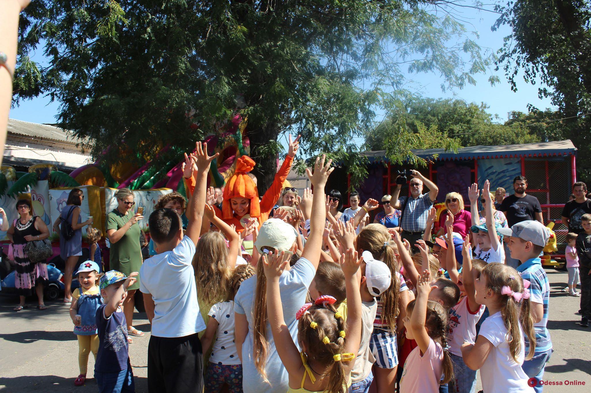 Одесский зоопарк приглашает на День малышей