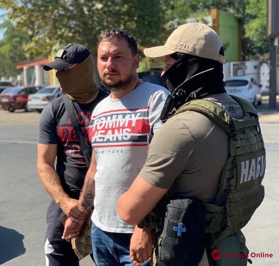 В НАБУ рассказали подробности задержания в Одессе главы службы автодорог Николаевской области
