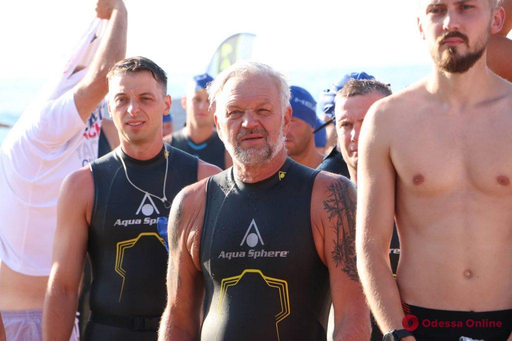 В Одессе стартовал второй этап соревнований Oceanman (фото)