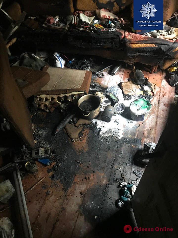В Измаиле наркоаграрий «спалился» на пожаре