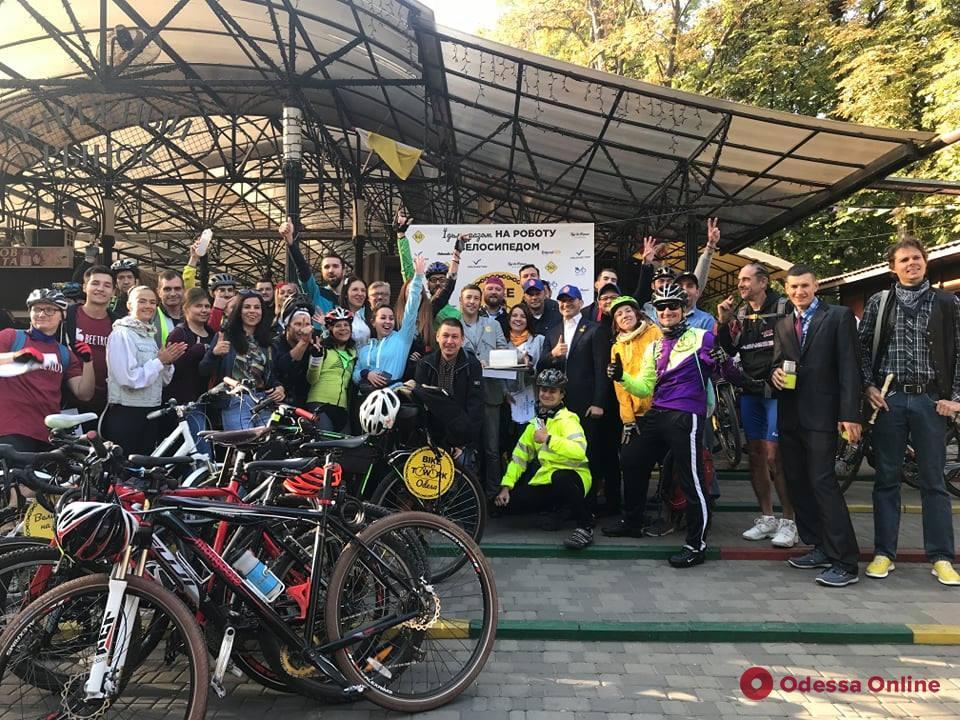 На работу на велосипеде: одесситов призывают пересаживаться на экотранспорт