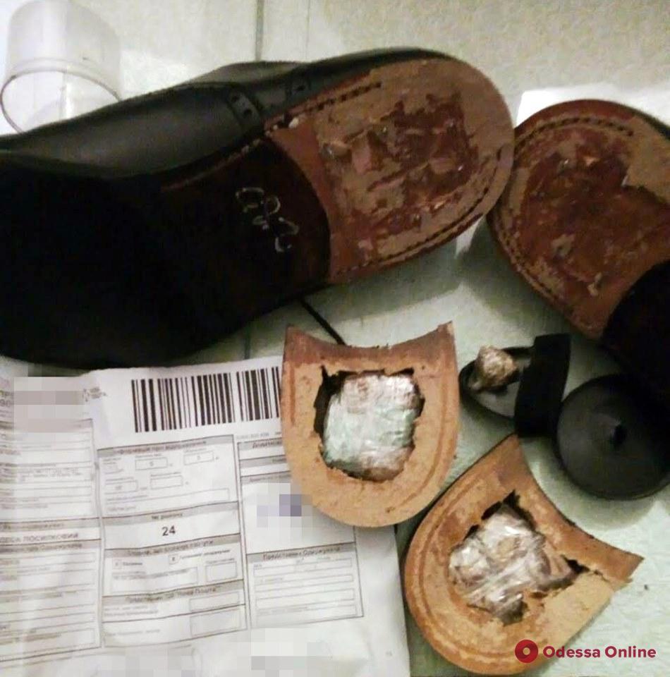 В одесском СИЗО заключенному пытались передать «наркоботинки»