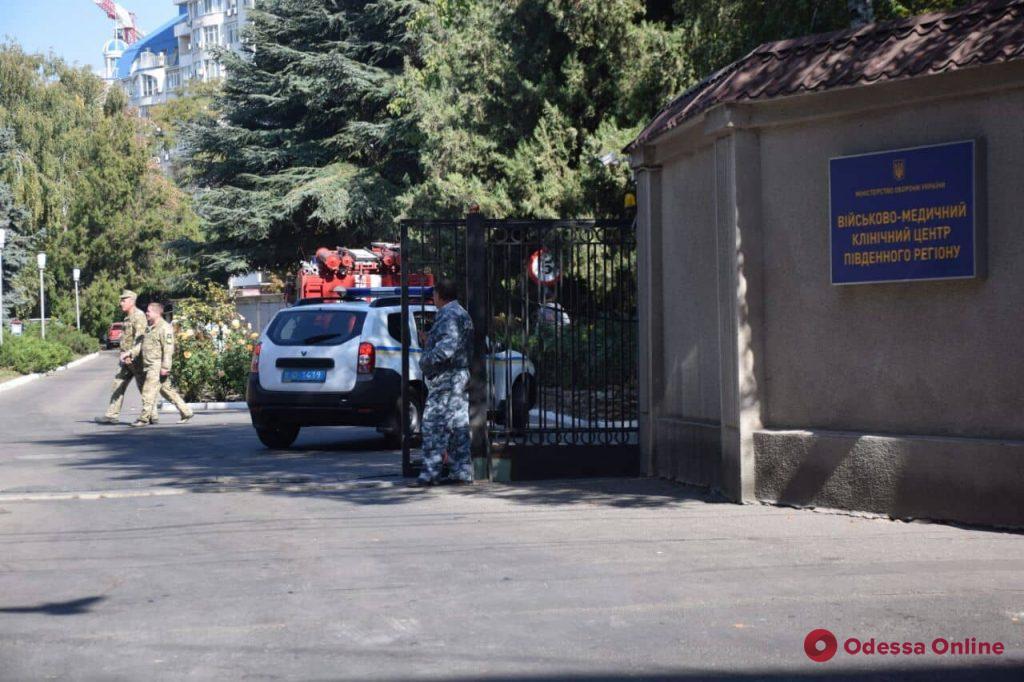 В госпитале на Пироговской ищут бомбу (обновлено)