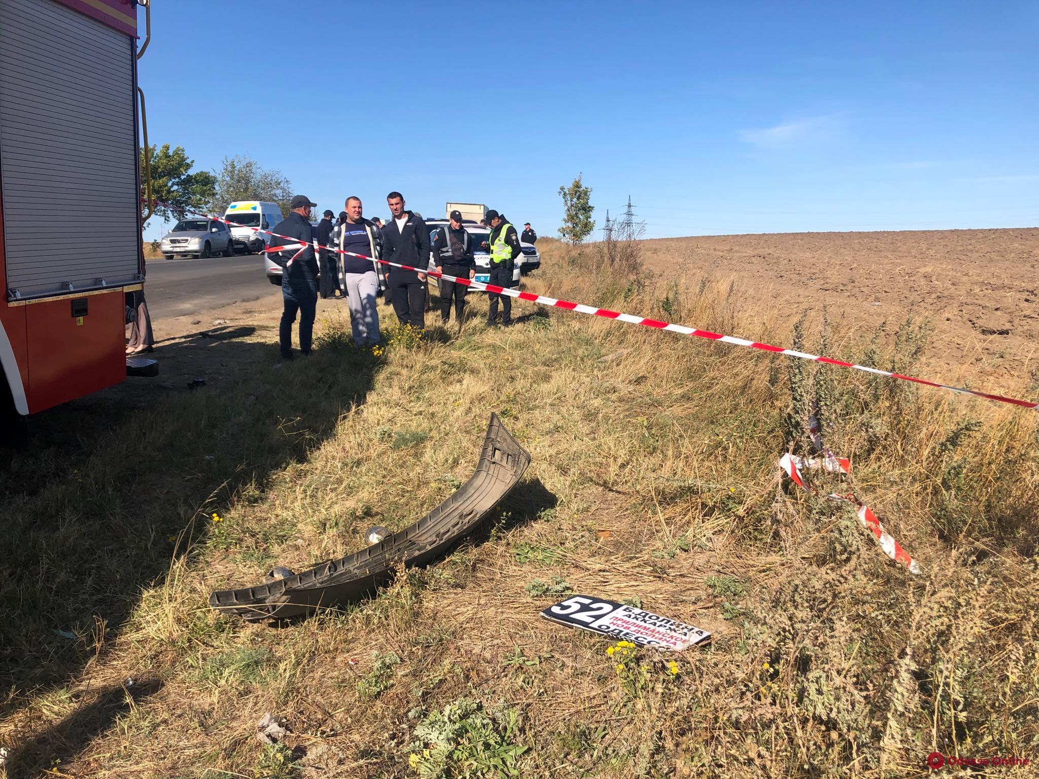Смертельная авария под Одессой произошла по вине водителя бензовоза