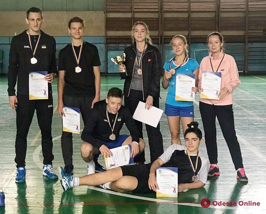 Бадминтон: одесситы завоевали «бронзу» высшей лиги чемпионата Украины