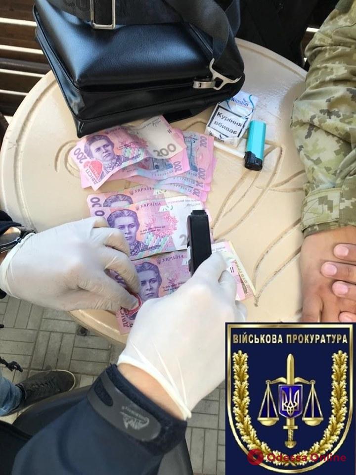 В Одесской области на взятке погорел пограничник-снабженец