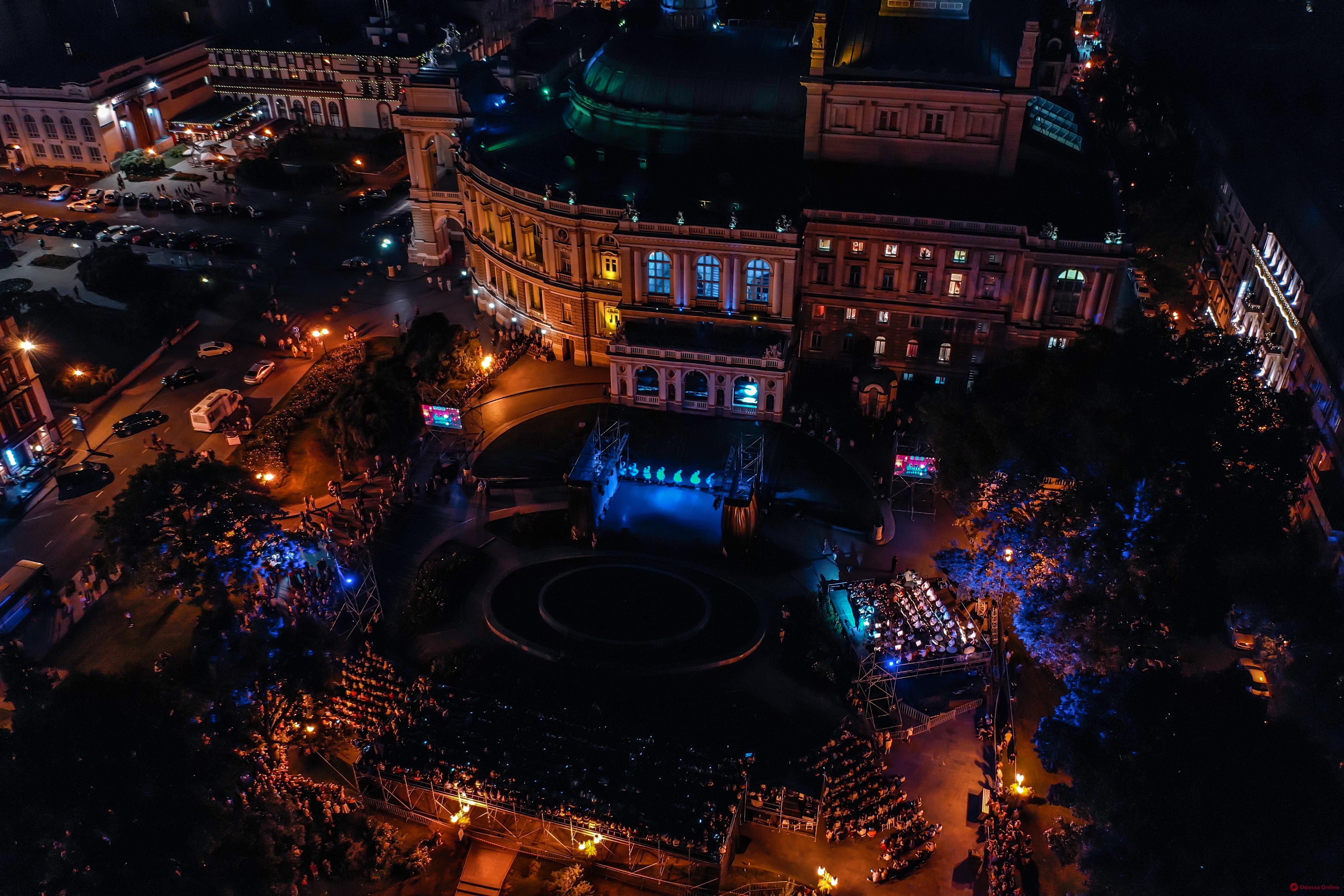Празднование Дня города: именинница с высоты птичьего полета (фото)