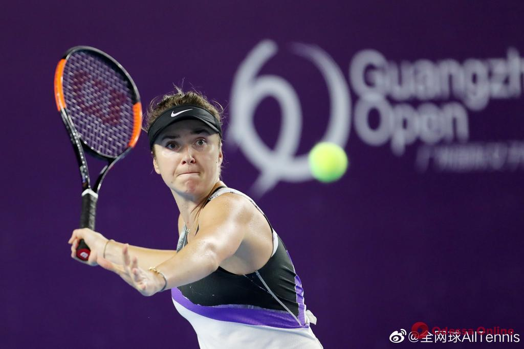 Теннис: уроженка Одессы покидает турнир в Китае из-за травмы