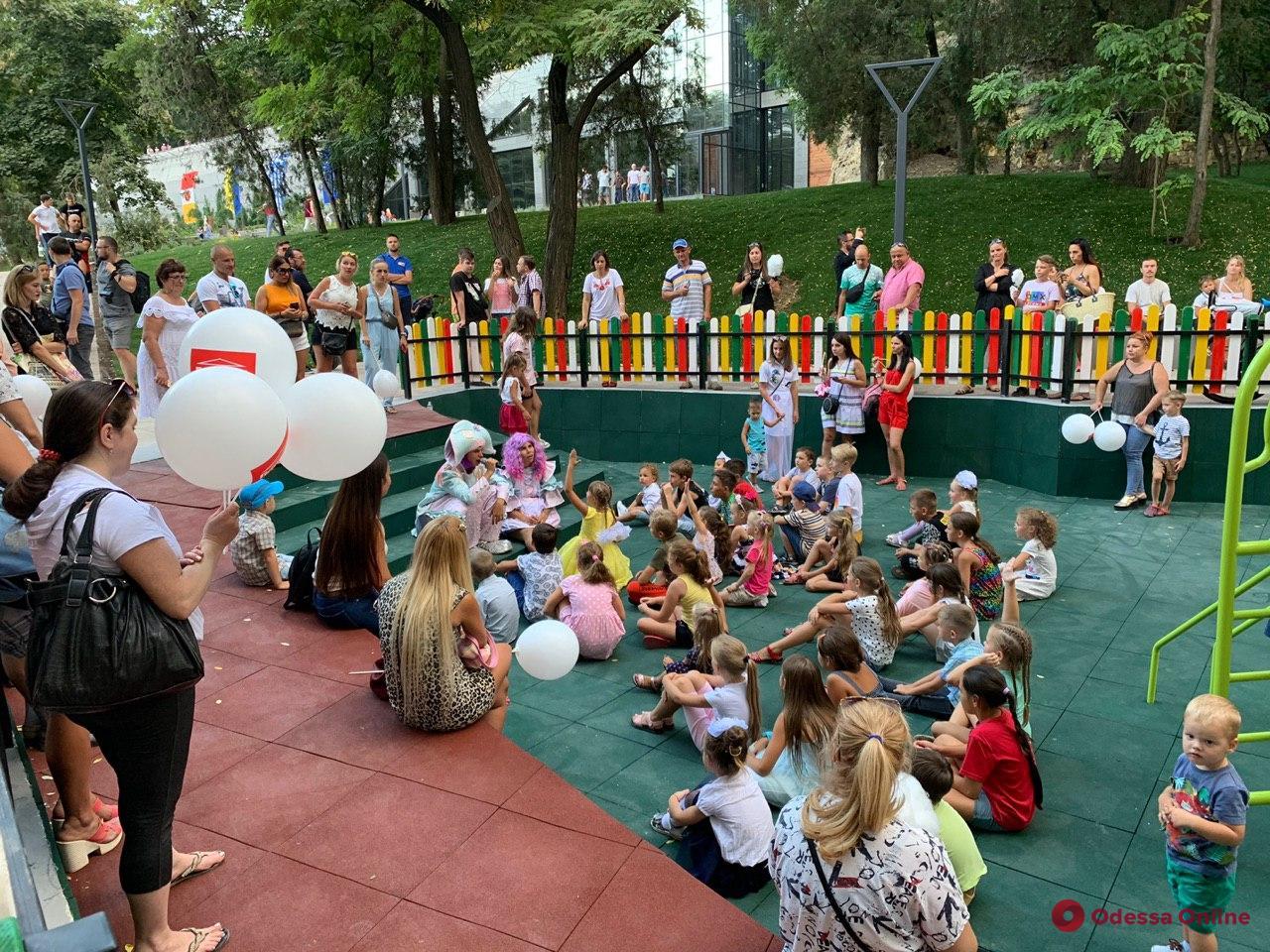 В Одессе открылась вторая часть Греческого парка