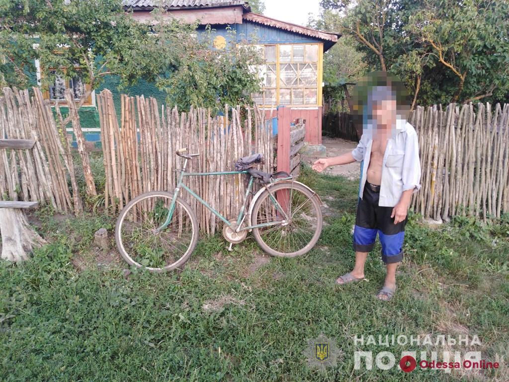В Одесской области пенсионер угнал велосипед, чтобы добраться домой
