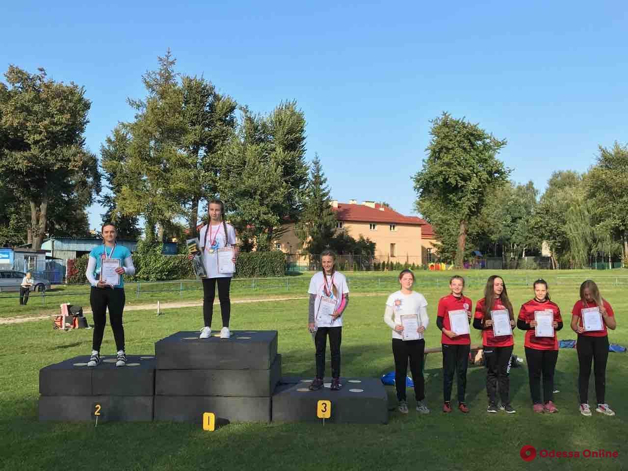 Стрельба из лука: одесситка заняла призовое место в международном турнире в Польше