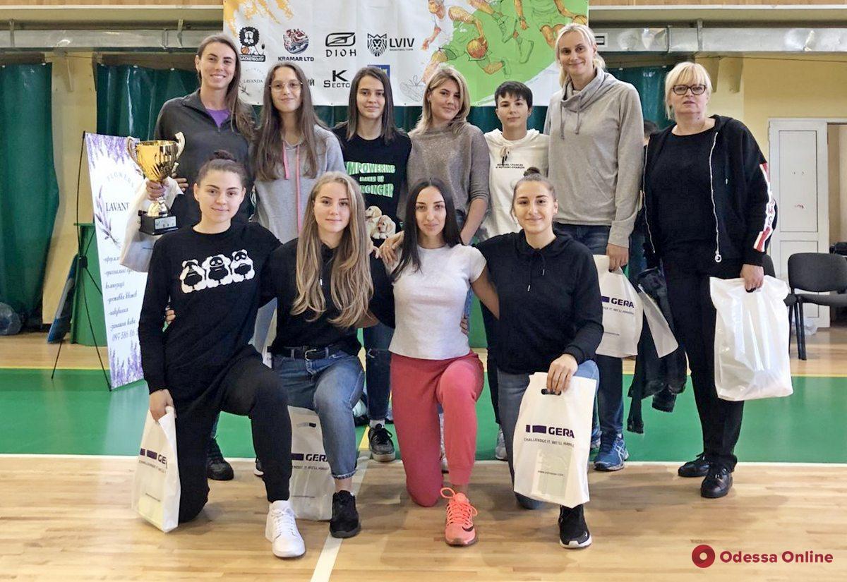 Одесские баскетболистки завоевали Кубок Львова
