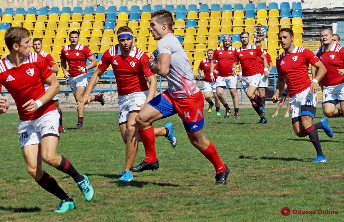 Одесские регбисты одержали важнейшую победу в Суперлиге