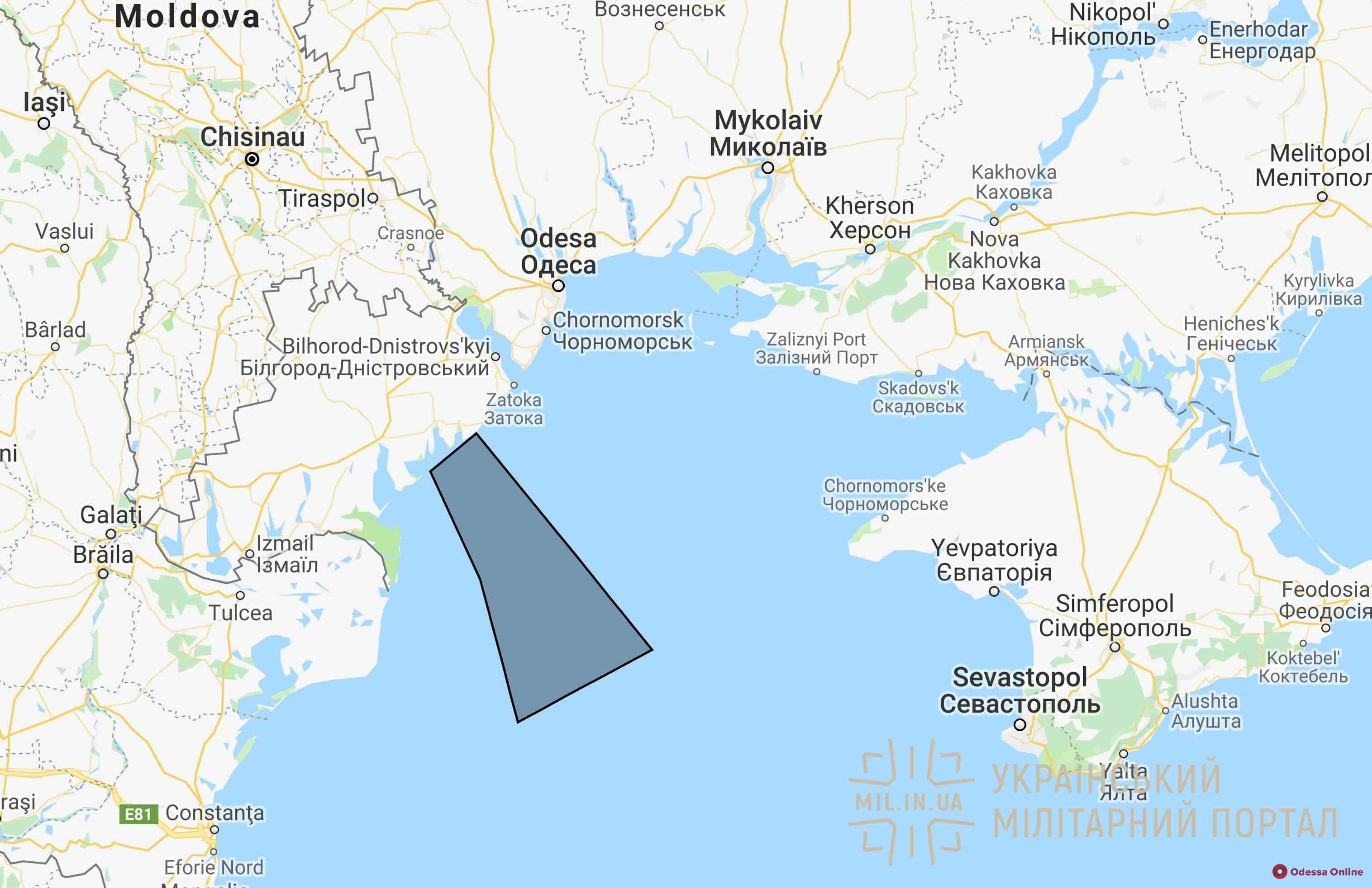 Вблизи курорта в Одесской области пройдут ракетные испытания