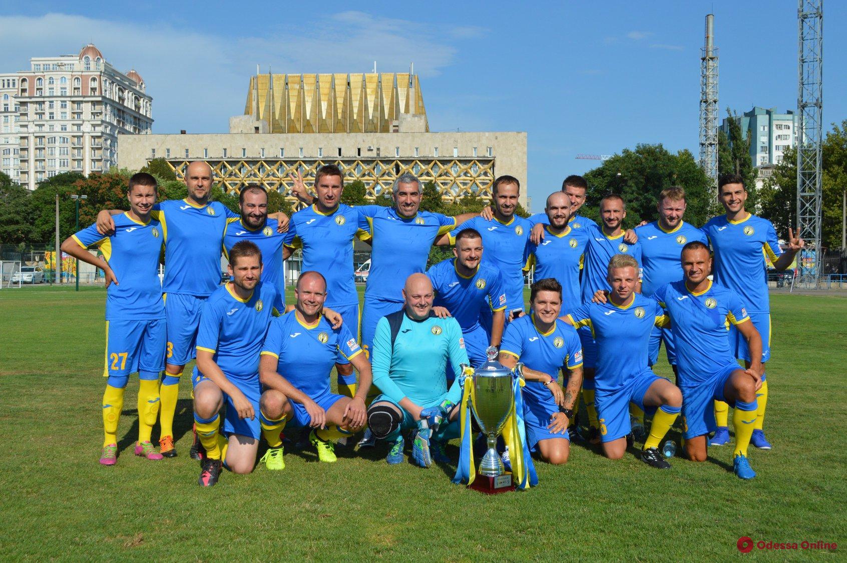 Одесские журналисты сыграют в благотворительном футбольном матче с ветеранами «Днепра»