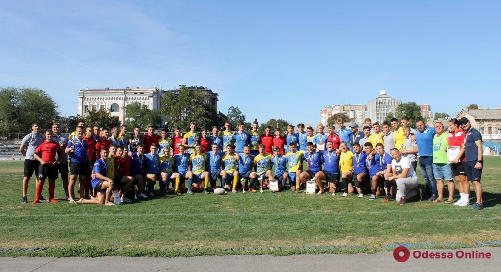 Одесские регбисты завоевали медали международного турнира «Danuba Sevens»