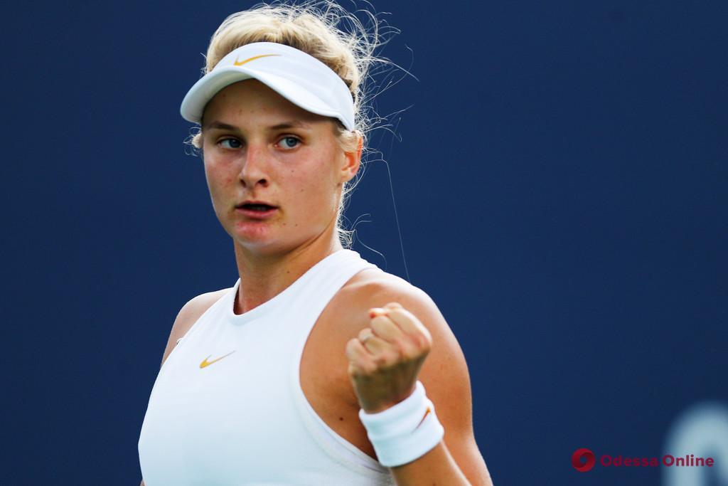 Теннис: юная одесситка уверенно разобралась со второй «ракеткой» мира в Китае