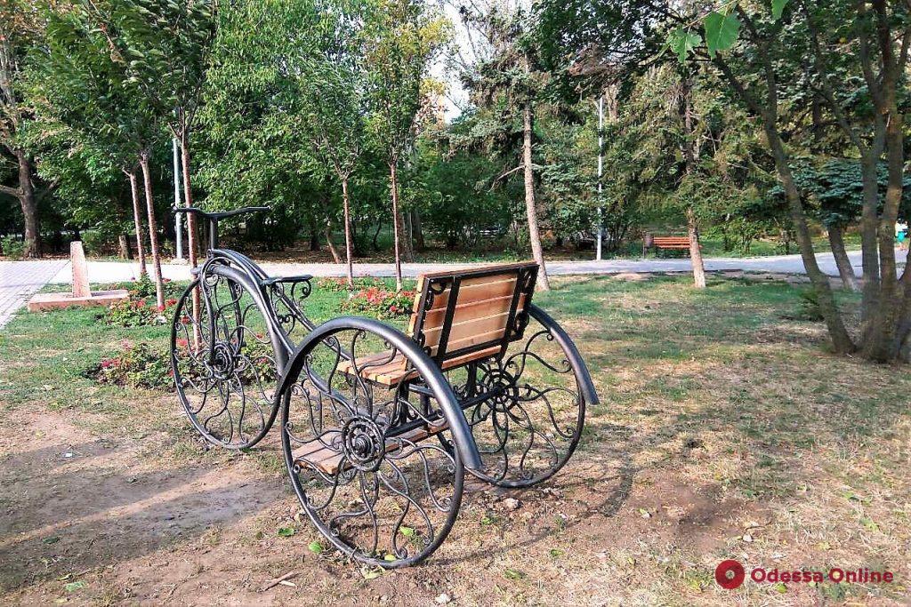 В парке Победы появился новый арт-объект