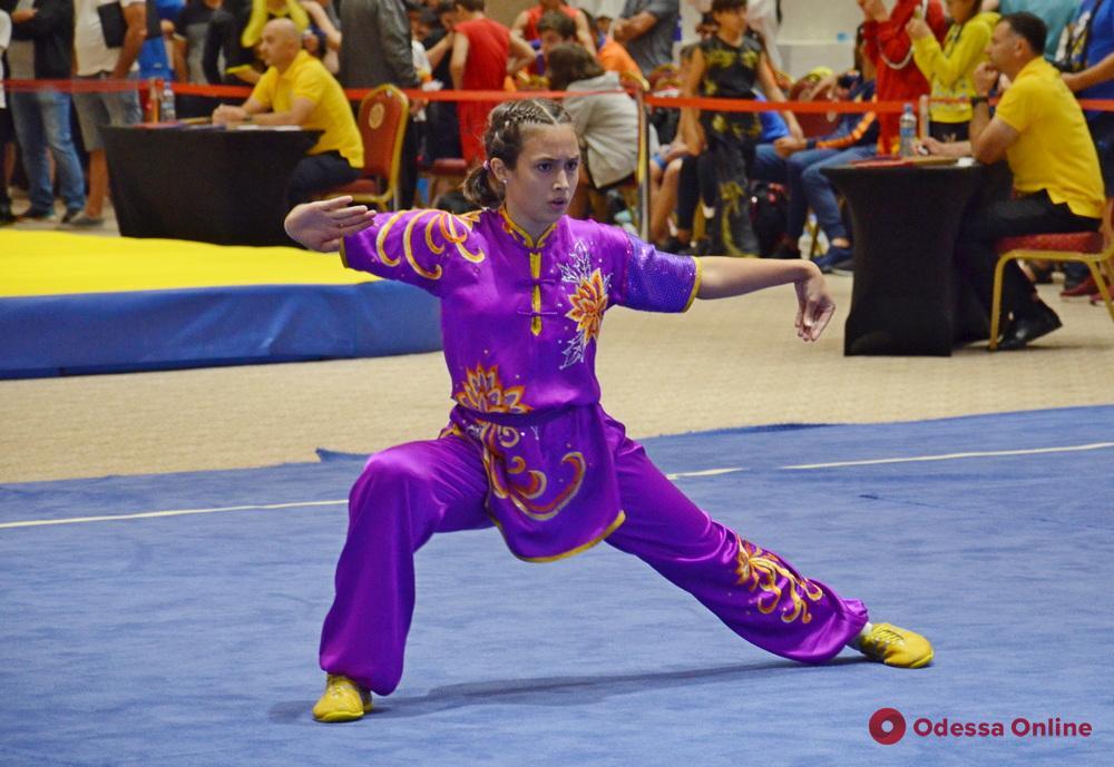 Ушу: одесситки завоевали десять медалей «Batumi Open International Championship»