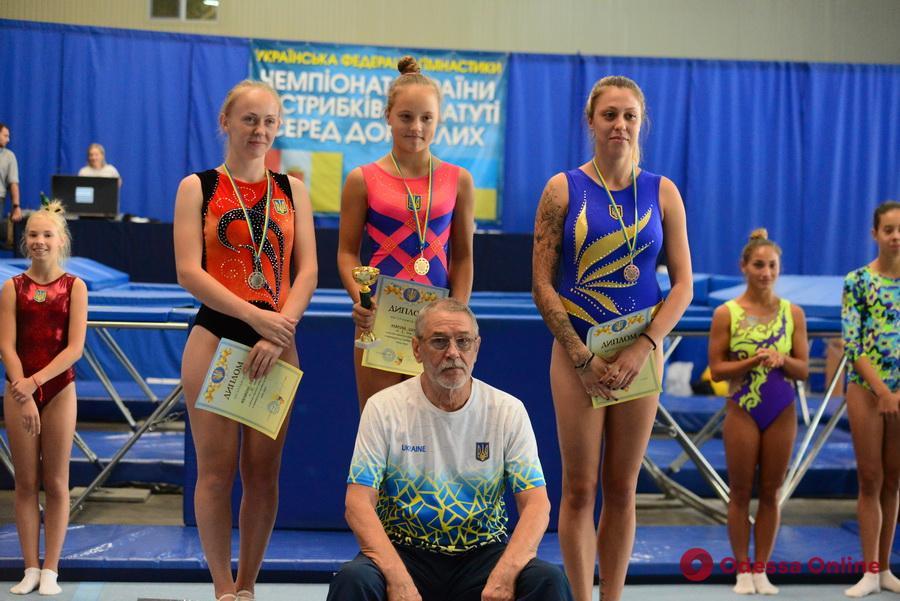 Прыжки на батуте: одесситы собрали «урожай» медалей домашних турниров всеукраинского значения