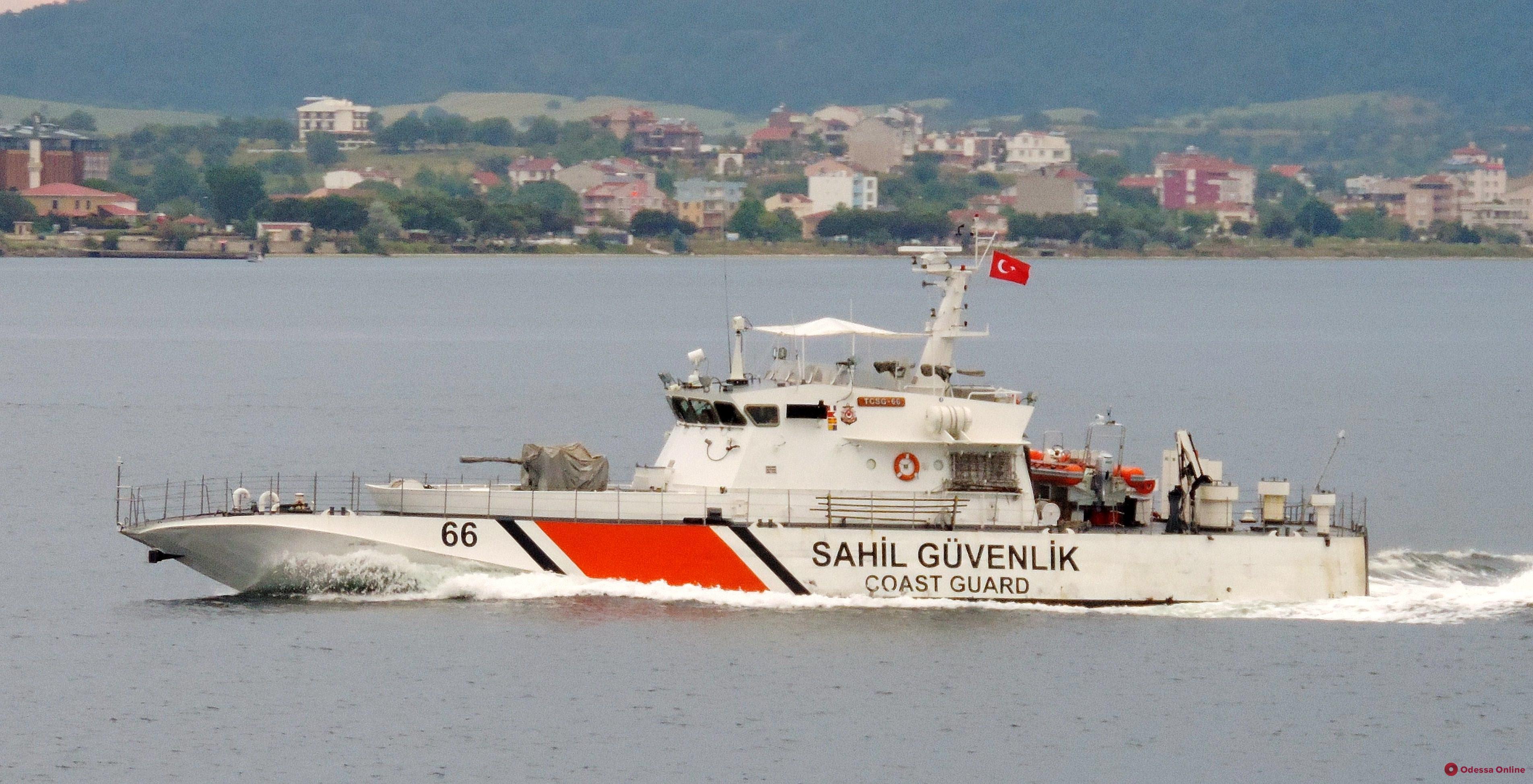 Одессу посетит турецкий военный корабль